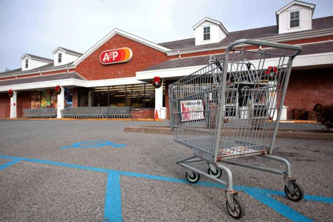 "The A. & P., where ""8 O'Clock"" meant something else than time..."