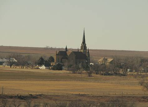 Holy Cross Church in Pfeifer, Kansas