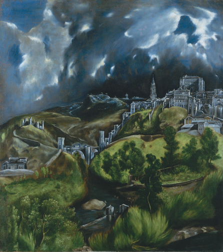 """A View of Toledo,"" by El Greco, ca. 1598-99"