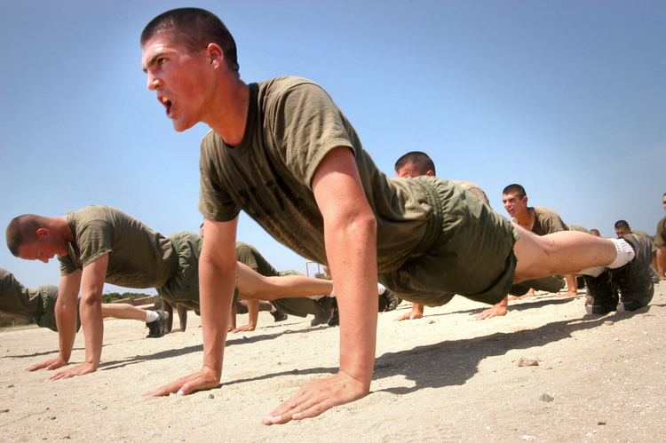 United States Marine Corps recruits (Photo courtesy of Wikimedia Commons)