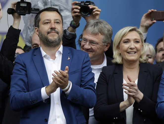 Italy's Catholic establishment faults Salvini for using ...