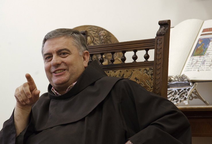 Archbishop José Rodríguez Carballo, O.F.M., secretary of the Congregation for Institutes of Consecrated Life and Societies of Apostolic Life