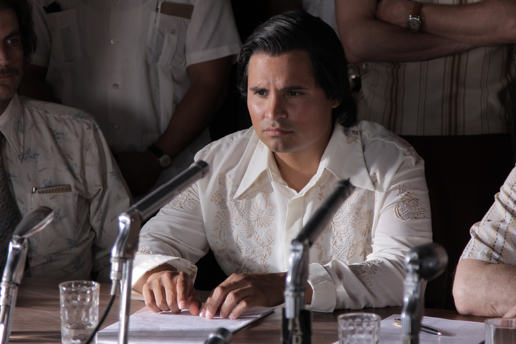 "Michael Pena stars in ""Cesar Chavez."" (CNS photo/Pantelion Films)"