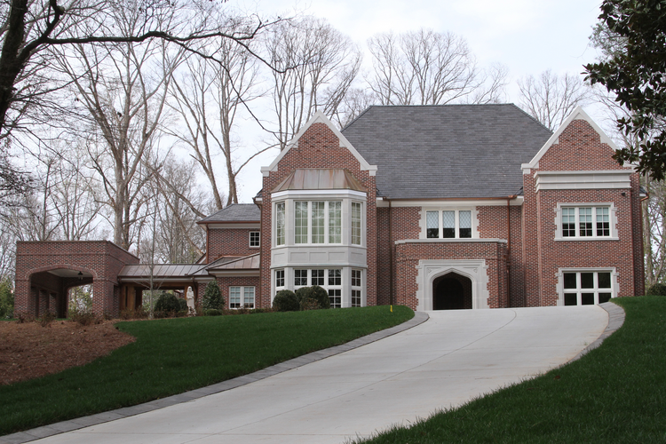 Atlanta archbishop's new $2.2 million residence that came under heavy criticism. (CNS photo/Michael Alexander, Georgia Bulletin)