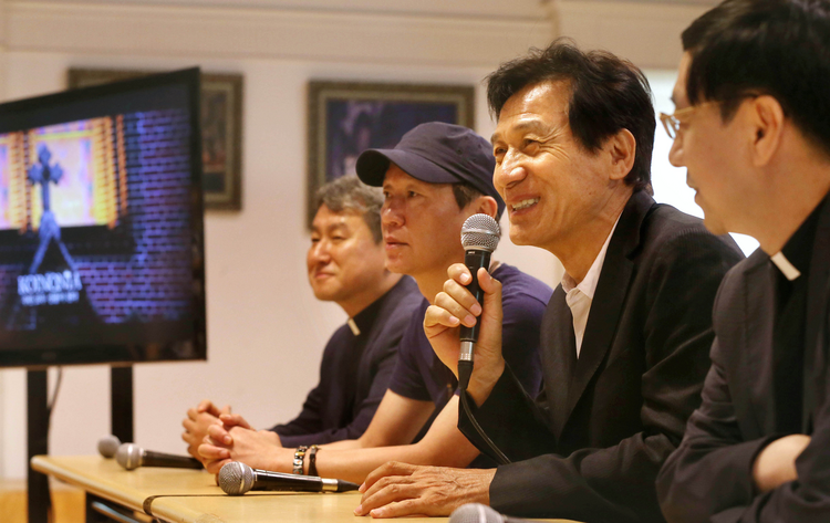South Korean actor to appear in video promoting papal visit (CNS photo/Stringer, EPA)