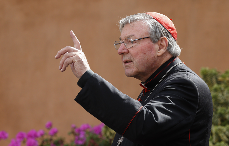 Cardinal Pell, prefect of Vatican's Secretariat for the Economy