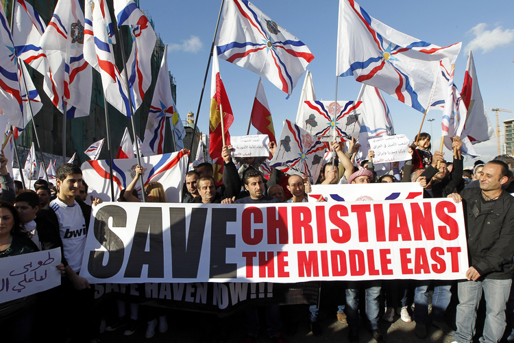 LIVING STONES—HAMMERED. Church leaders implore a global response as state of Christian communities in Middle East reaches a crisis point.
