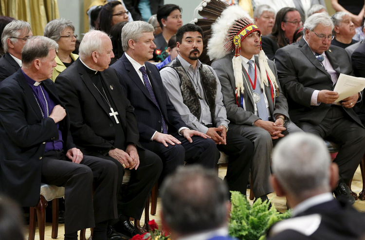 Archbishop attends Truth and Reconciliation Commission of Canada's closing ceremony at Rideau Hall in Ottawa.
