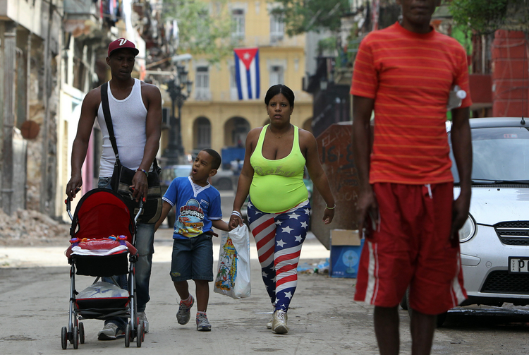 Stars and bars on the Streets of Havana