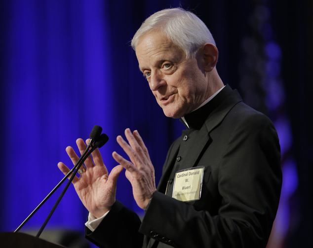 Cardinal Donald Wuerl of the Archdiocese of Washington (CNS photo/Bob Roller)