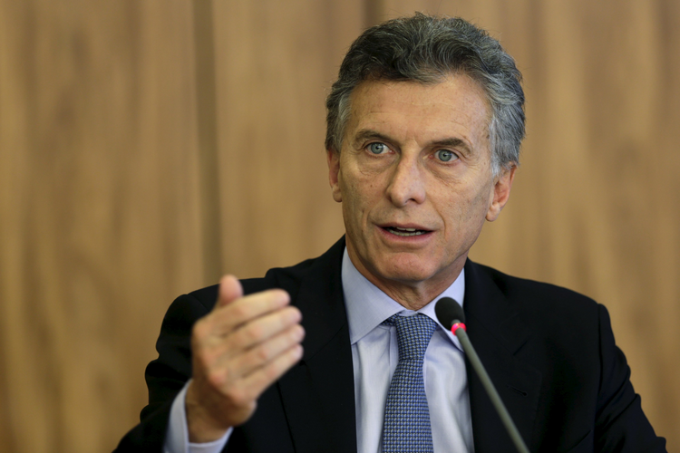 Relations between the Argentine Catholic Church and federal government are expected to improve after President-elect Mauricio Macri, pictured in a Dec. 4 photo, takes office Dec. 10. (CNS photo/Ueslei Marcelino, Reuters)