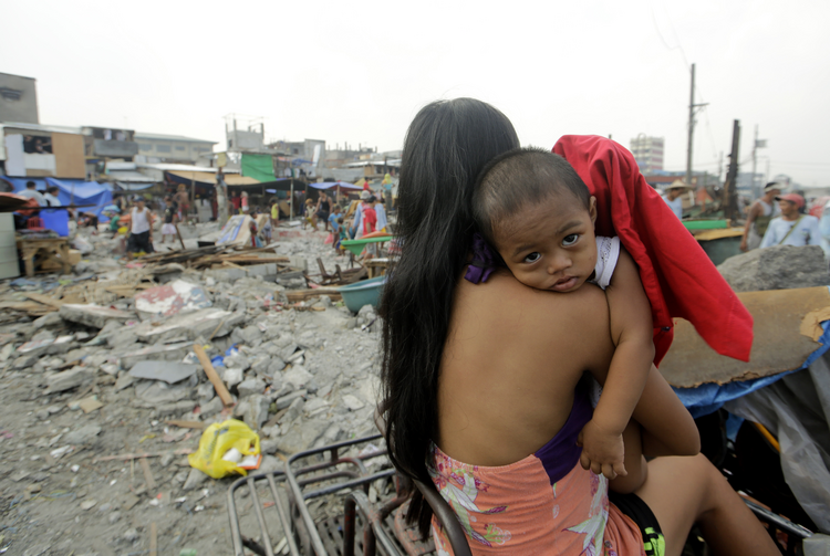 Harrowing photos from inside Filipino jail show reality of