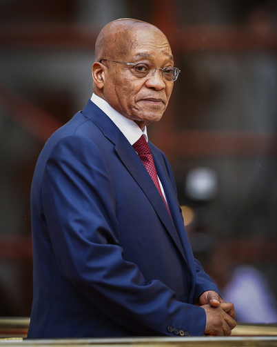 South African President Jacob Zuma is seen in Cape Town, South Africa, Feb. 12, 2015. (CNS photo/Pool via EPA)