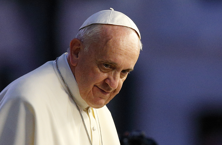 "In an interview with the Argentine newspaper, La Nacion, the pope said he will continue pressing for a church that is open and understanding despite opposition from some clerics who ""say no to everything."" (CNS photo/Paul Haring)"