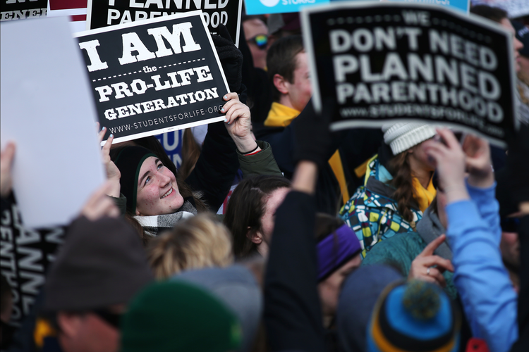 "The ""pro-life generation"" had a large presence at the annual March for Life in Washington on Jan. 27. (CNS photo/Tyler Orsburn)"