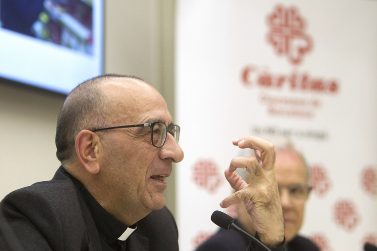 Archbishop Juan Jose Omella of Barcelona, Spain, pictured in a 2016 photo, is one of five new cardinals Pope Francis will create at a June 28 consistory. (CNS photo/Marta Perez, EPA)