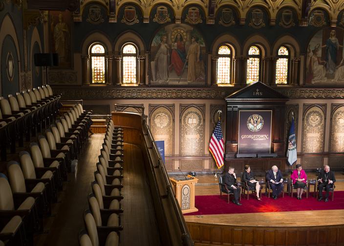 Catholic leaders gather to ask: Can Catholic social teaching overcome polarizati...