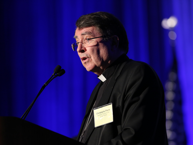 Nuncio says U.S. bishops committed to addressing abuse scandal | America Magazine