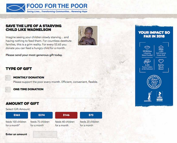 food for poor appeals attorney general s order on donation