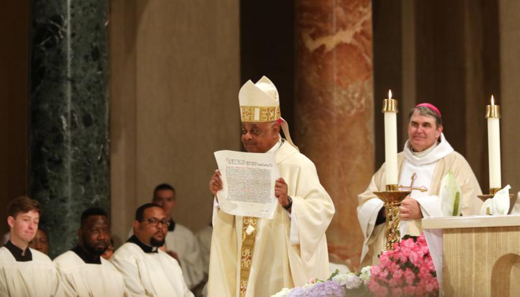 Archbishop Gregory: D.C. Catholics 'stand at a defining moment'