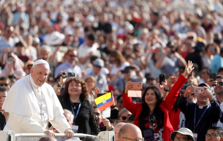 Pope Francis: The Catholic Church will endure because it is God's project