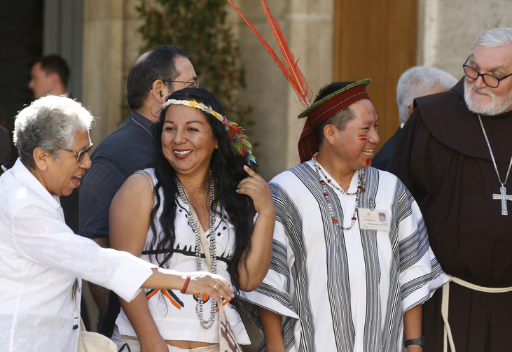 Inside the relaxed atmosphere of the Amazon synod