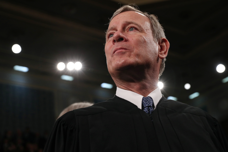 Chief Justice John Roberts has indicated that the Supreme Court should generally be bound by its own previous decisions, including Roe v. Wade. (CNS photo/Leah Millis, Pool via Reuters)