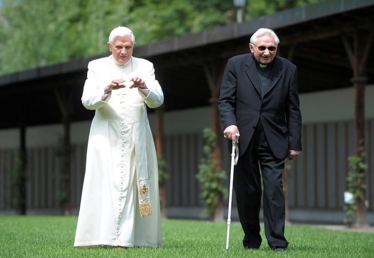Benedict XVI's last remaining sibling, Georg Ratzinger, has died