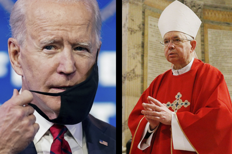 biden usccb gomez.png (RNS) — The American Catholic bishops have responded to the extraordinary number of executive orders from President Joe Biden with an extraordinary number of press releases of their own. The press releases are noteworthy not only in their number but also in their positive tone.