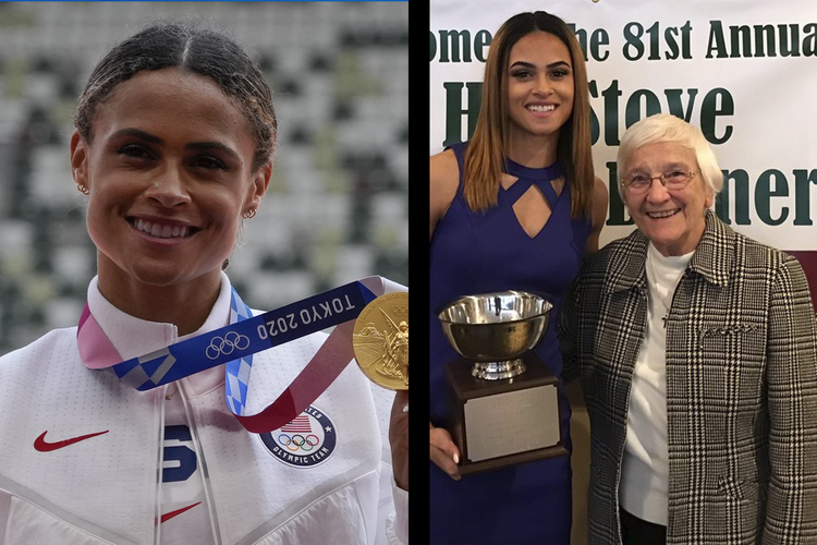 Meet the nun who cheered Sydney McLaughlin to a gold medal and new world record in Tokyo - America Magazine