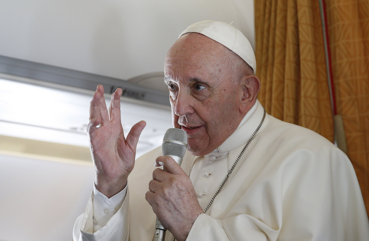 Pope Francis speaks about abortion and Communion: Don't 'excommunicate' pro-choice politicians