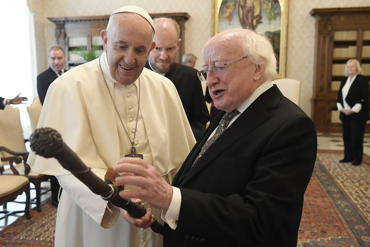 The president of Ireland won't attend a service marking 100 years of partition. Why not?