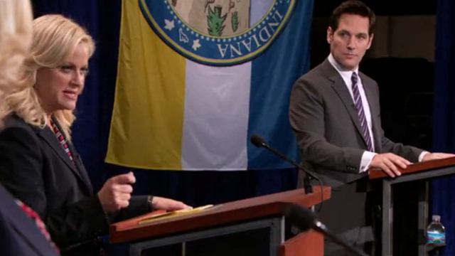 Why not give both of them something to do after the election? (Image from NBC's Parks and Recreation)