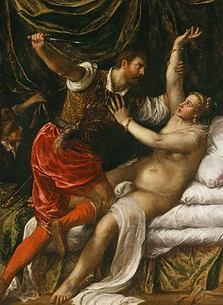 Titian's Tarquin and Lucretia 1571