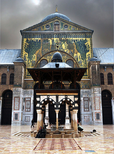 The Great Umayyed Mosque of Damascus, Syria