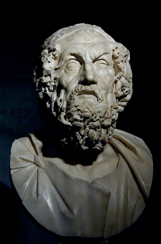 Homer, Musei Capitolini (Photo via Wikimedia Commons)
