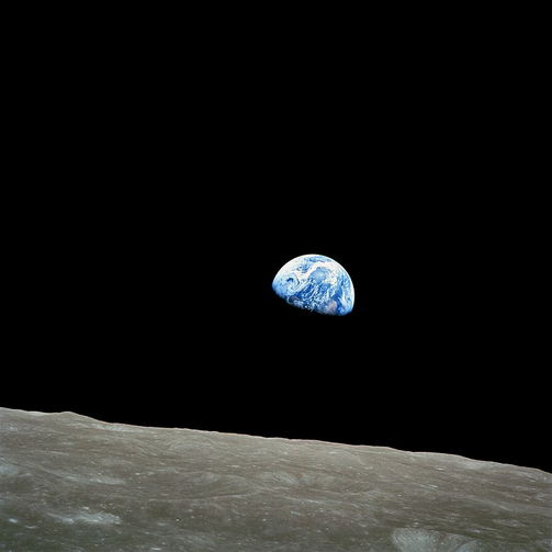"""God bless all of you, all of you on the good Earth.""   Astronaut Frank Borman of Apollo 8 on Christmas Eve, 1968."