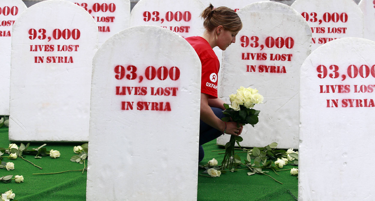 93,000 dead in Syria