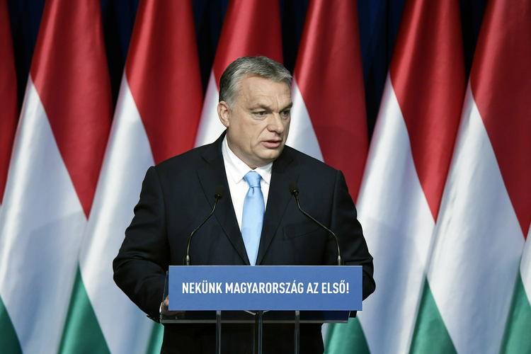 Hungarian Prime Minister Viktor Orbán is a frequent visitor to the Csíksomlyó shrine in Romania, where Pope Francis is expected to celebrate Mass this spring. (Associated Press)