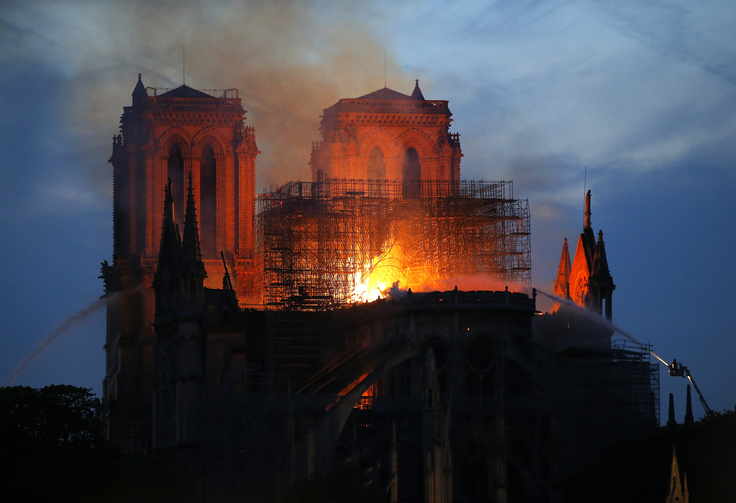 Father James Martin: Where was God when Notre Dame was in flames?