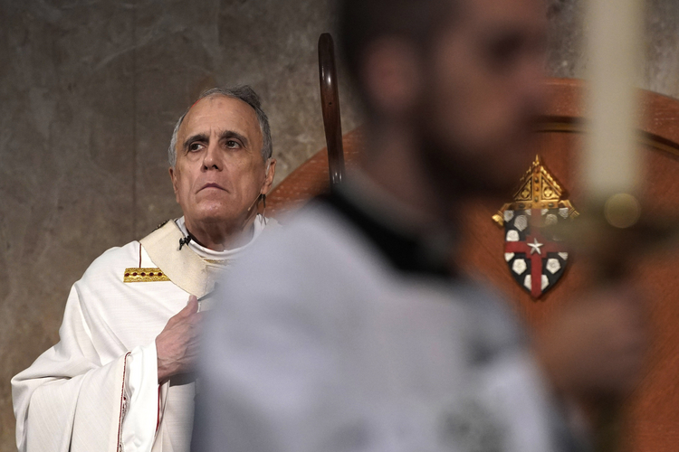 Cardinal Daniel DiNardo presides over a Mass of Ordination at the Co-Cathedral of the Sacred Heart in Houston