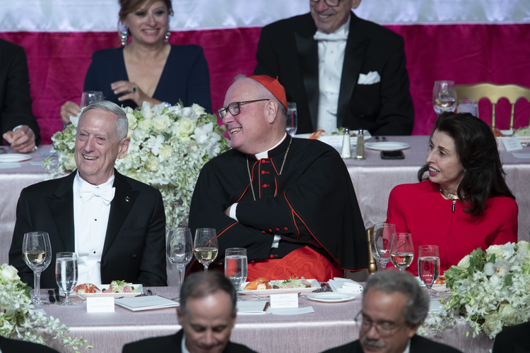 'A general, a comedian and a cardinal walk into a bar': The 2019 Al Smith dinner