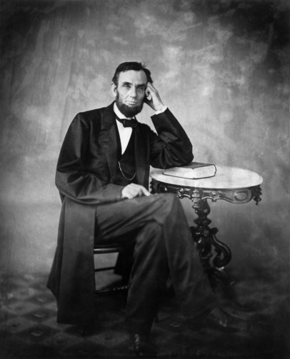 Abraham Lincoln. Source: Alexander Gardner, 1863