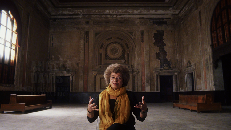 "Angela Davis in Ava DuVernay's ""13th"""