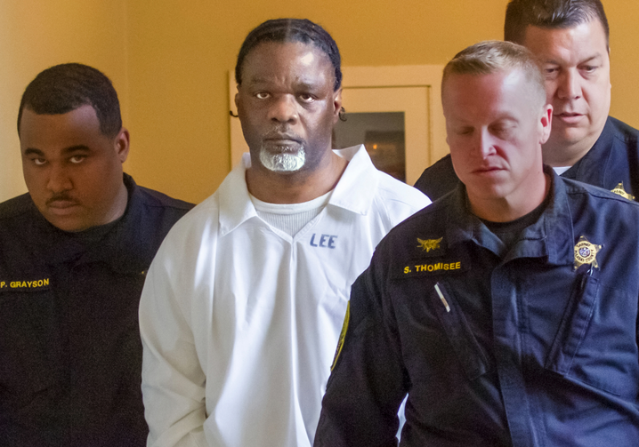 In this Tuesday, April 18, 2017 file photo, Ledell Lee appears in Pulaski County Circuit Court. (Benjamin Krain/The Arkansas Democrat-Gazette via AP, File)