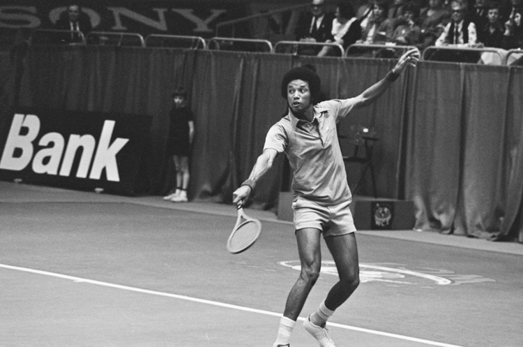 Arthur Ashe at the 1975 World Tennis Tournament in Rotterdam.Arthur Ashe at the 1975 World Tennis Tournament in Rotterdam. (Wikimedia Commons)