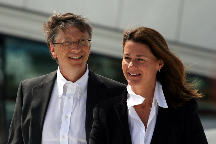 Bill and Melinda Gates in June 2009. Mr. Gates, the co-founder of Microsoft, is the world's second richest person and a major source of philanthropic funding. (Kjetil Ree/Creative Commons)