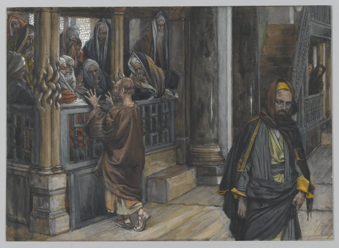 Judas Goes to Find the Jews by James Tissot. Source: Brooklyn Museum