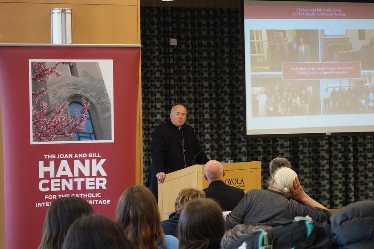 Photo: the Hank Center at Loyola University Chicago