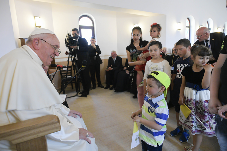 Pope Francis's simple (and radical) apology to the Roma